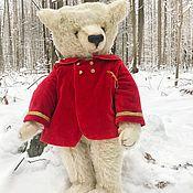 Мишки Тедди ручной работы. Ярмарка Мастеров - ручная работа медведь Иван, 61 см. Handmade.