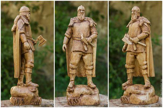 Статуэтки ручной работы. Ярмарка Мастеров - ручная работа. Купить Викинг 25 см. Handmade. Викинг, викинг из дерева