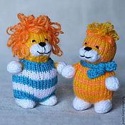 Куклы и игрушки ручной работы. Ярмарка Мастеров - ручная работа Лев и тигр. Handmade.