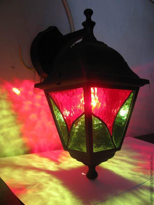 """Освещение ручной работы. Ярмарка Мастеров - ручная работа. Купить Уличный светильник """"Цветок"""". Handmade. Уличный фонарь, освещение, дача"""