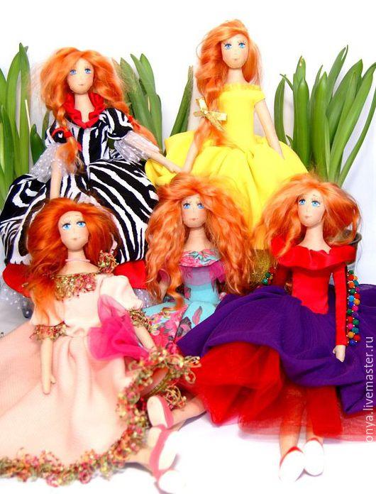 Коллекционные куклы ручной работы. Ярмарка Мастеров - ручная работа. Купить Кукла Маруся (линия игровых кукол). Handmade.