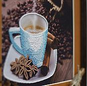 """Картины и панно ручной работы. Ярмарка Мастеров - ручная работа Картина """"Чашка кофе"""". Handmade."""