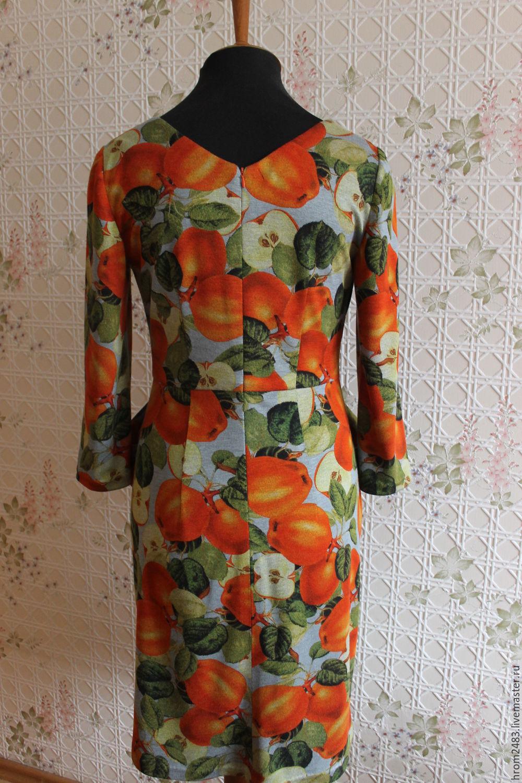 Яблочные платья с