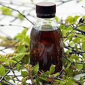 Косметика ручной работы handmade. Livemaster - original item Vinegar for rinsing hair with birch buds. Handmade.