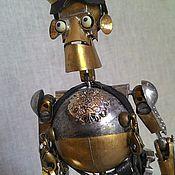 Куклы и игрушки ручной работы. Ярмарка Мастеров - ручная работа Гальванический Смазчик-Механик (ГСМ). Handmade.