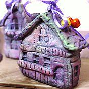 """Сувениры и подарки ручной работы. Ярмарка Мастеров - ручная работа Домики-""""Все фиолетово""""! НАБОР. Handmade."""