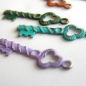 handmade. Livemaster - original item Accessories for jewelry: Vintaj pendants. Handmade.