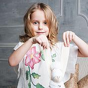 """Работы для детей, ручной работы. Ярмарка Мастеров - ручная работа Детское войлочное платье """"Белоснежка"""". Handmade."""