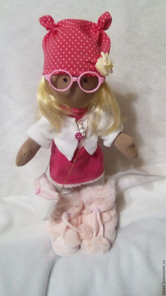 Коллекционные куклы ручной работы. Ярмарка Мастеров - ручная работа. Купить Интерьерная куколка. Handmade. Белый, кукла ручной работы