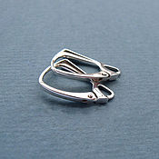 Материалы для творчества handmade. Livemaster - original item The fastener for earrings silver 925. Handmade.