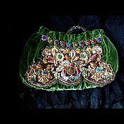 Украшения handmade. Livemaster - original item Handbag Russkie Samotsvety. Handmade.