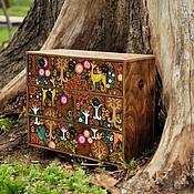 """Мини-комоды ручной работы. Ярмарка Мастеров - ручная работа Мини-комод """"Сказочный лес"""". Handmade."""
