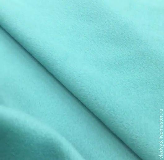 Шитье ручной работы. Ярмарка Мастеров - ручная работа. Купить Пальтовая шерсть с кашемиром. Handmade. Синий