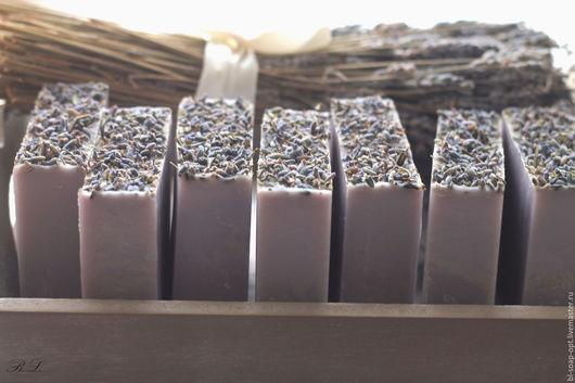 Мыло ручной работы. Ярмарка Мастеров - ручная работа. Купить Органическое мыло Лаванда опт. Handmade. Сиреневый, шебби