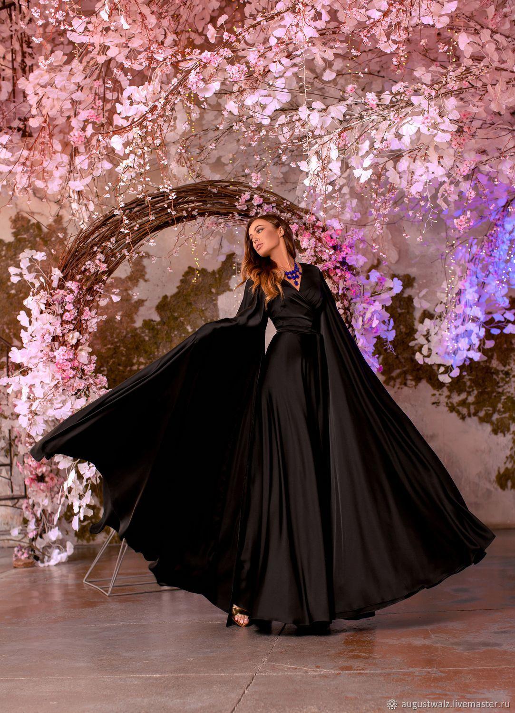 Солнце чёрное! Яркое летнее шёлковое платье, Платья, Санкт-Петербург, Фото №1