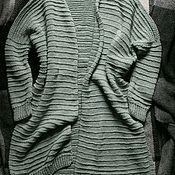 Одежда ручной работы. Ярмарка Мастеров - ручная работа Вязаный кардиган ручной работы. Handmade.