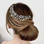 Свадебный салон handmade. Livemaster - original item Wedding decoration in a handmade hairstyle