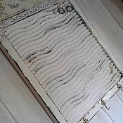 Для дома и интерьера ручной работы. Ярмарка Мастеров - ручная работа Вешалка Ретро стирка. Handmade.
