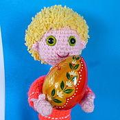 Куклы и игрушки ручной работы. Ярмарка Мастеров - ручная работа Домовёнок Кузя.  вязаная кукла. Handmade.