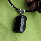 Фен-шуй и эзотерика handmade. Livemaster - original item pendant with schorl - black tourmaline. Your BOOKING. Handmade.