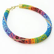 Украшения handmade. Livemaster - original item Bead harness a Riot of colors. Handmade.