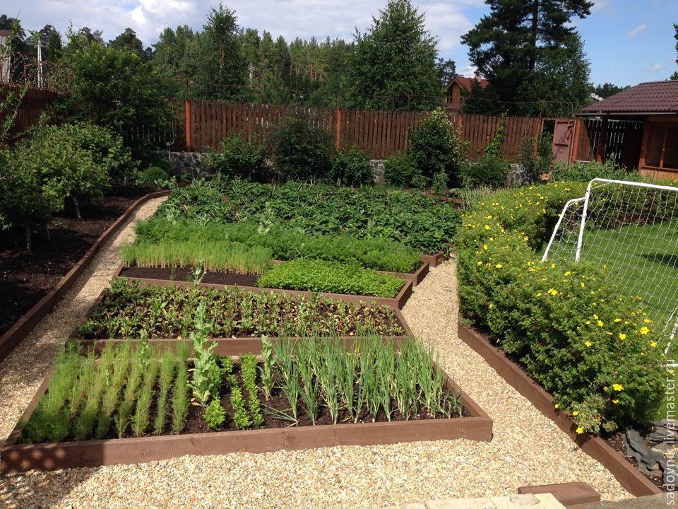 Как украсить огород своими руками фото сегодня трагически