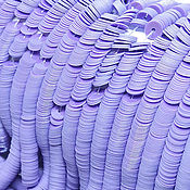 Пайетки ручной работы. Ярмарка Мастеров - ручная работа Французские пайетки 4 мм глянцевый фарфор 11025. Handmade.