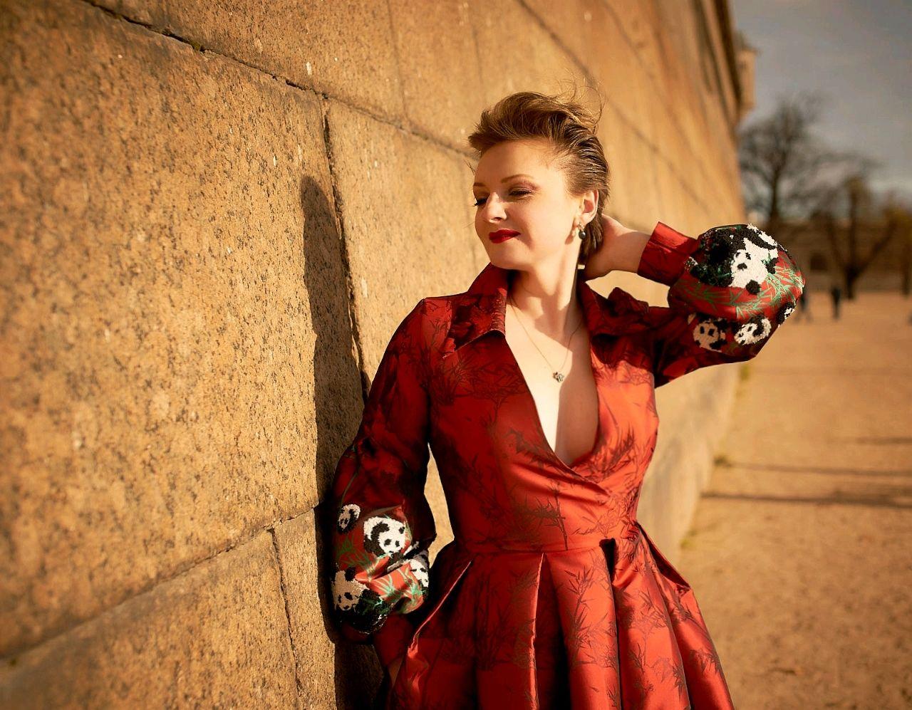 Dress made of jacquard ' Empress', Dresses, Moscow,  Фото №1