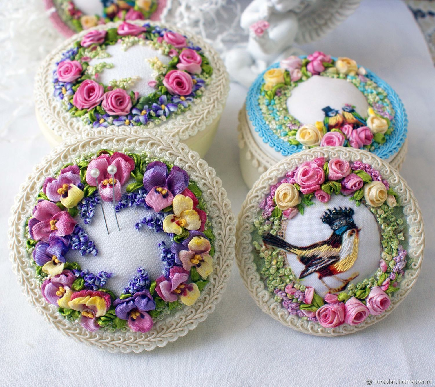 Box-pincushion, Gifts for March 8, Maikop,  Фото №1