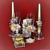 Свадебный салон handmade. Livemaster - original item Wedding accessories set