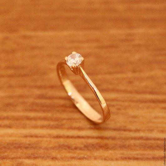 Кольца ручной работы. Ярмарка Мастеров - ручная работа. Купить Золотое кольцо, золото 585. Handmade. Золотой, золотое кольцо