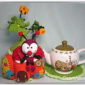 Посуда handmade. Livemaster - original item Warmer for teapot: