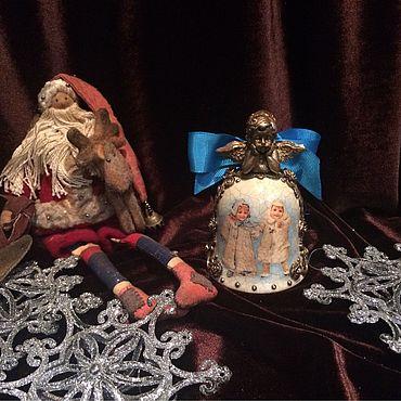 Сувениры и подарки ручной работы. Ярмарка Мастеров - ручная работа Интерьерный керамический колокольчик. Handmade.