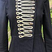 Одежда handmade. Livemaster - original item Last size!Designer jacket, Kaftan with gold. Handmade.