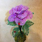 Цветы ручной работы. Ярмарка Мастеров - ручная работа Розы из бисера. Handmade.