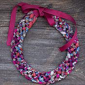 Русский стиль handmade. Livemaster - original item necklace