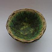 """Посуда ручной работы. Ярмарка Мастеров - ручная работа Пиала - солоночка """"Травы"""". Handmade."""