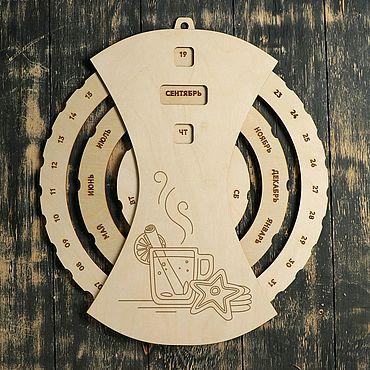 Канцелярские товары ручной работы. Ярмарка Мастеров - ручная работа Вечный календарь с вашим дизайном. Handmade.