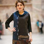 Одежда ручной работы. Ярмарка Мастеров - ручная работа валяный платье сарафан. Handmade.