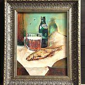 """Картины и панно ручной работы. Ярмарка Мастеров - ручная работа Картина"""" Завтрак художника"""". Handmade."""