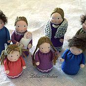 Куклы и игрушки ручной работы. Ярмарка Мастеров - ручная работа Кукольная семейка. Handmade.