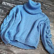 Одежда ручной работы. Ярмарка Мастеров - ручная работа Объемный пуловер. Handmade.