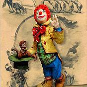 """Подарки к праздникам ручной работы. Ярмарка Мастеров - ручная работа Игрушка из ваты """"Клоун Клепа"""". Handmade."""