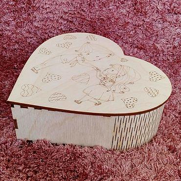 Для дома и интерьера ручной работы. Ярмарка Мастеров - ручная работа Шкатулка сердце ``Влюбленность``. Handmade.