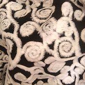 Материалы для творчества ручной работы. Ярмарка Мастеров - ручная работа Ткань меховая Норковая набивка. Handmade.