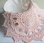 Для дома и интерьера ручной работы. Ярмарка Мастеров - ручная работа Салфетка крючком Прекрасная в розовом. Handmade.