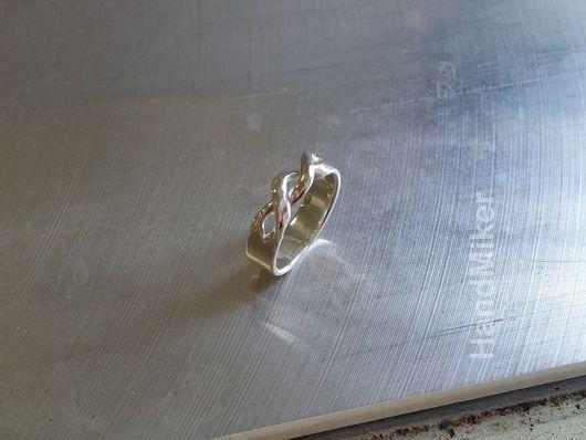 """Кольца ручной работы. Ярмарка Мастеров - ручная работа. Купить Кольцо """"Бесконечность"""". Handmade. Кольцо, простые формы, минимализм"""