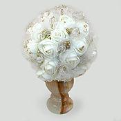 Цветы и флористика handmade. Livemaster - original item Flowers made of rock crystal
