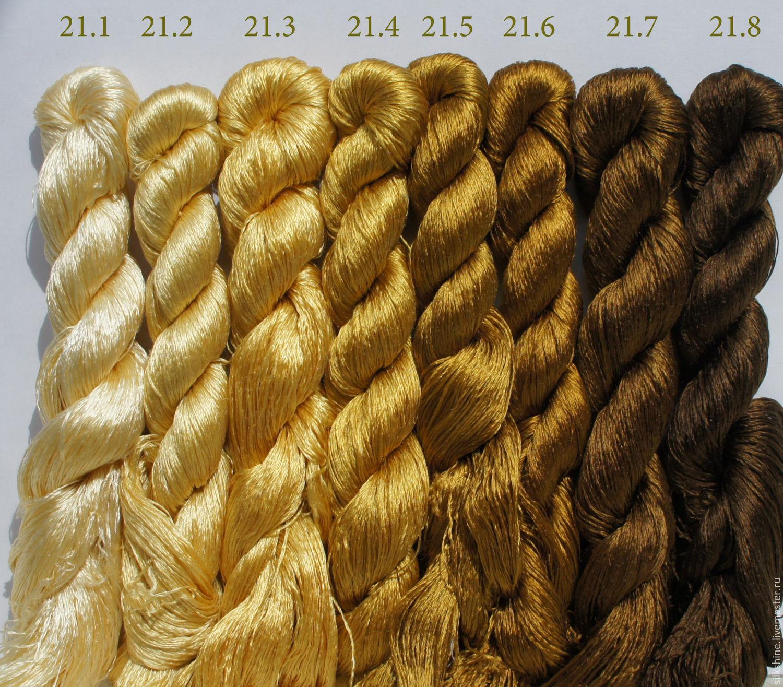 Шелковые нитки для вышивания 62