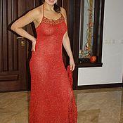 """Одежда ручной работы. Ярмарка Мастеров - ручная работа Вечернее платье """" Пре...Красное"""". Handmade."""